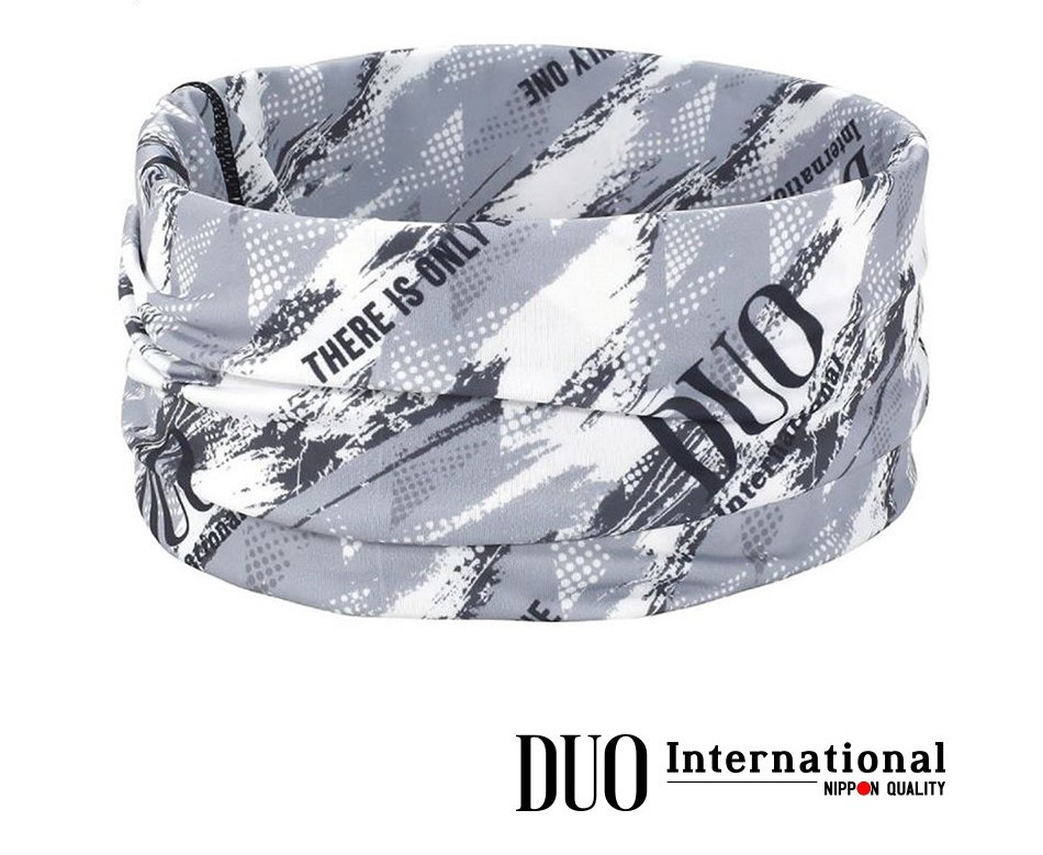 DUO UV HEADWEAR : Gray Geo