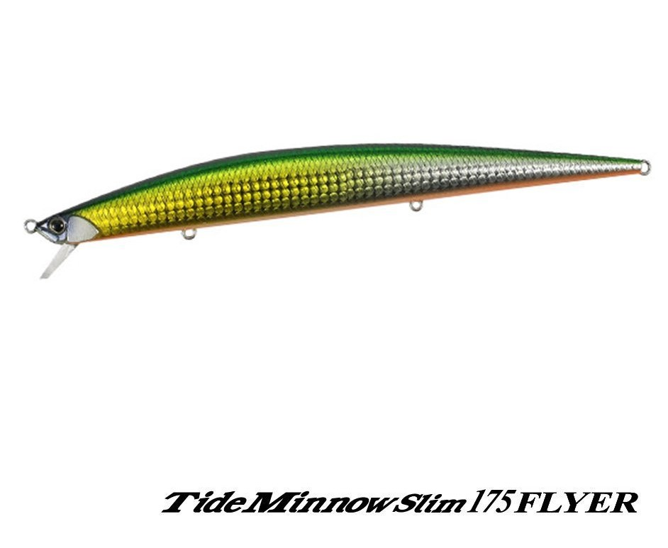 señuelo DUO TIDE MINNOW SLIM 175 FLYER : Green Gold Fusion – CBA0344