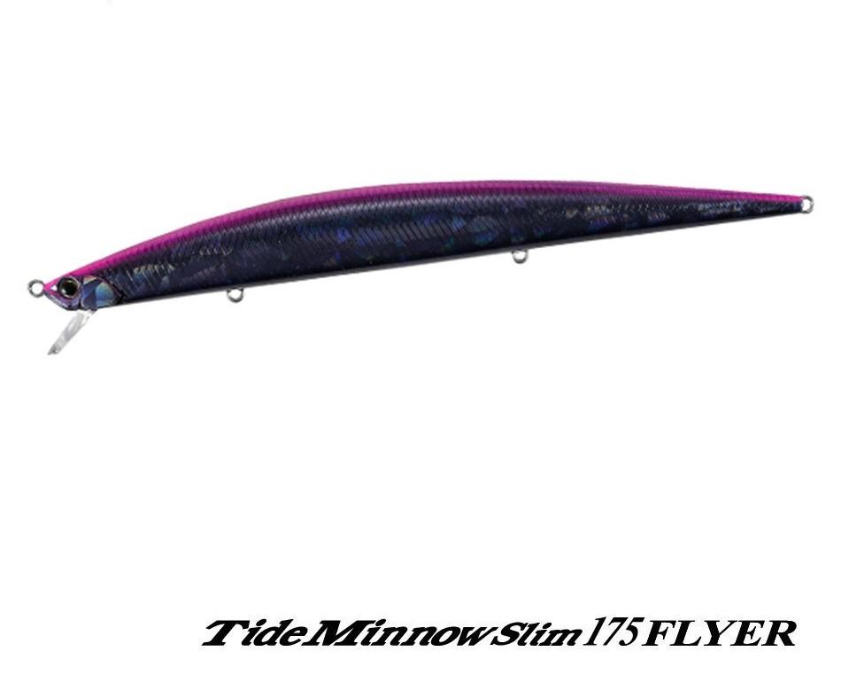 Señuelo DUO TIDE MINNOW SLIM 175 FLYER : Purple Midnight – CLB0496