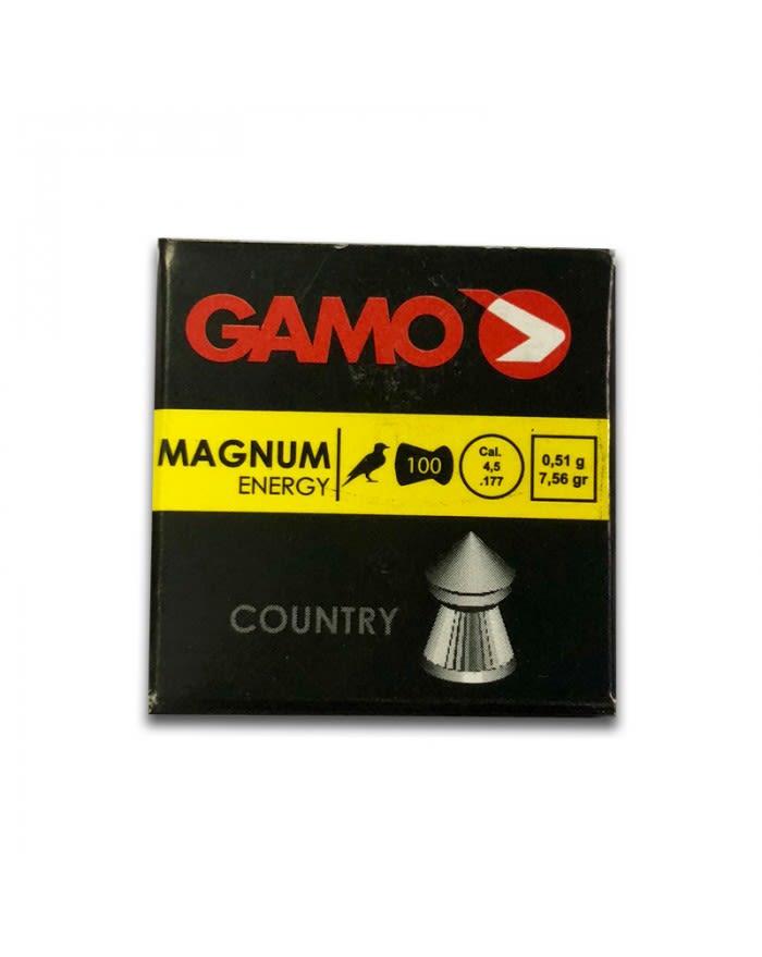 Kit Postones Gamo magnum cal 4,5 punta 100 unid x  5 unidades
