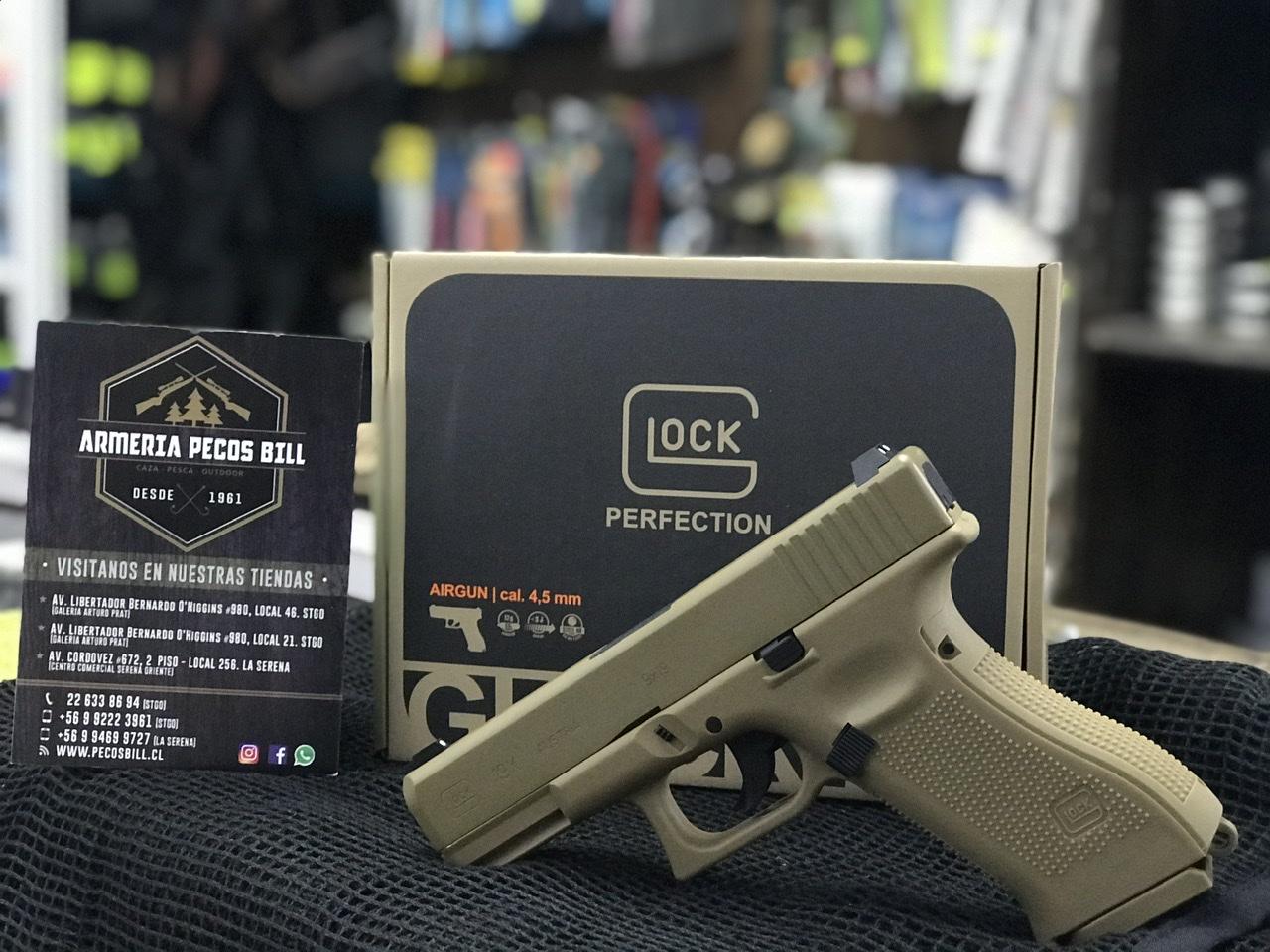 Pistola Umarex Glock 19X cal 4,5 bbs co2