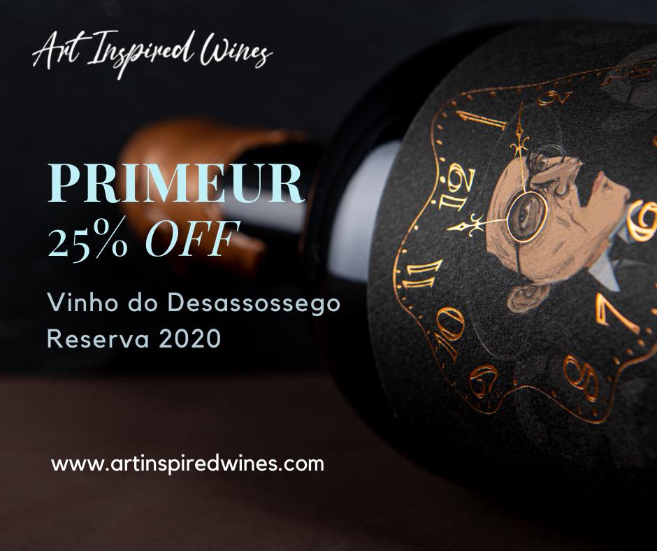Vinho do Desassossego Reserva 2020 - PRIMEUR