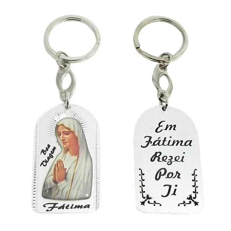 Chaveiro com imagem Nossa Senhora