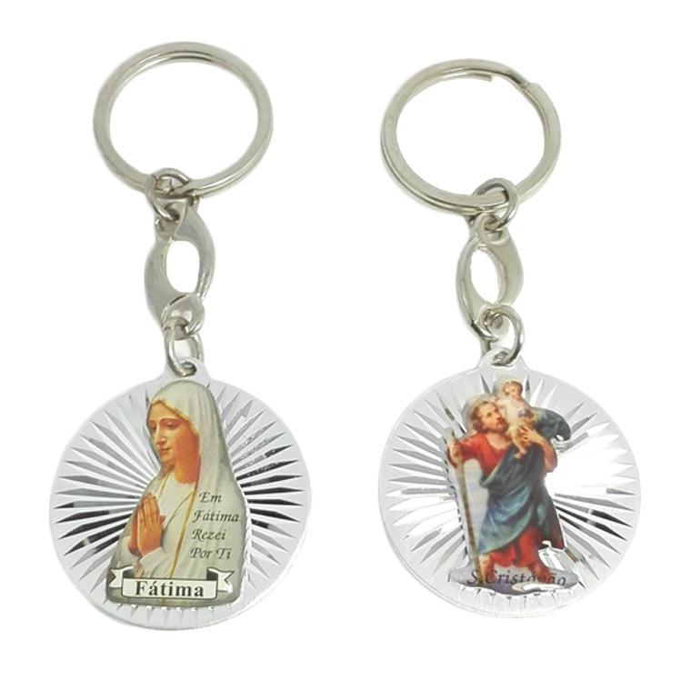Chaveiro de Nossa Senhora e São Cristóvão