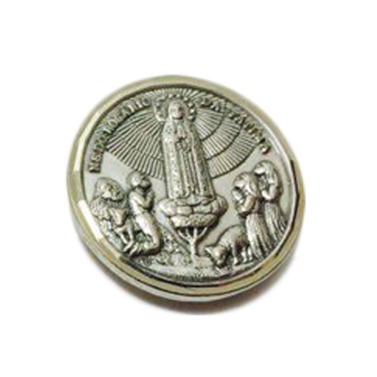 Íman formato de moeda