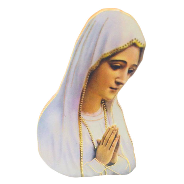 Placa Imagem de Nossa Senhora de Fátima