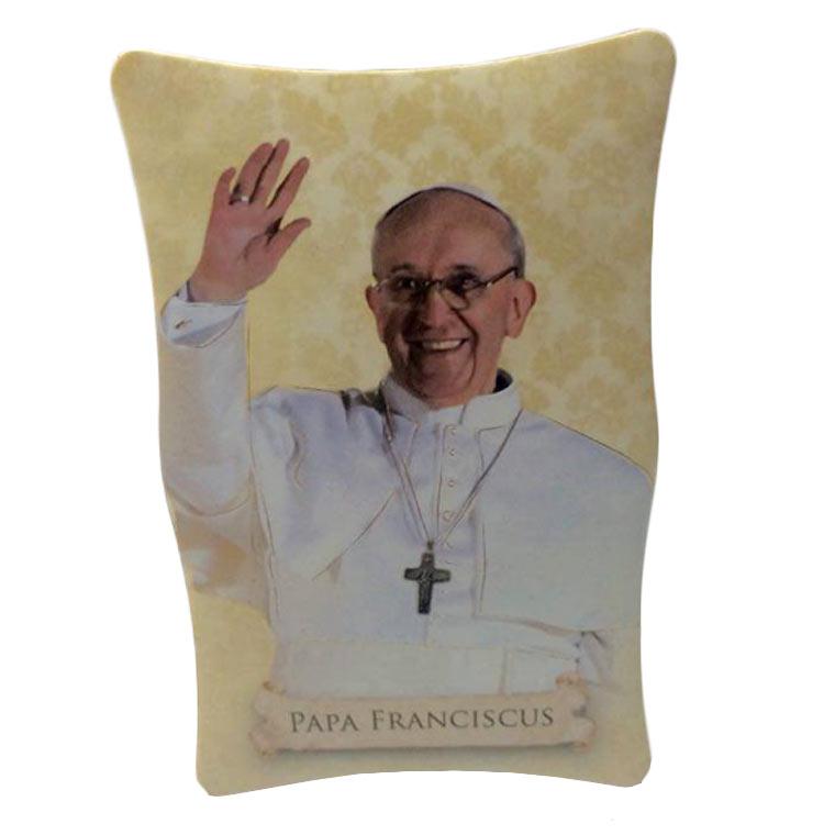 Placa do Papa Francisco