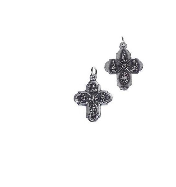 Medalha cruz da Nossa Senhora Milagrosa