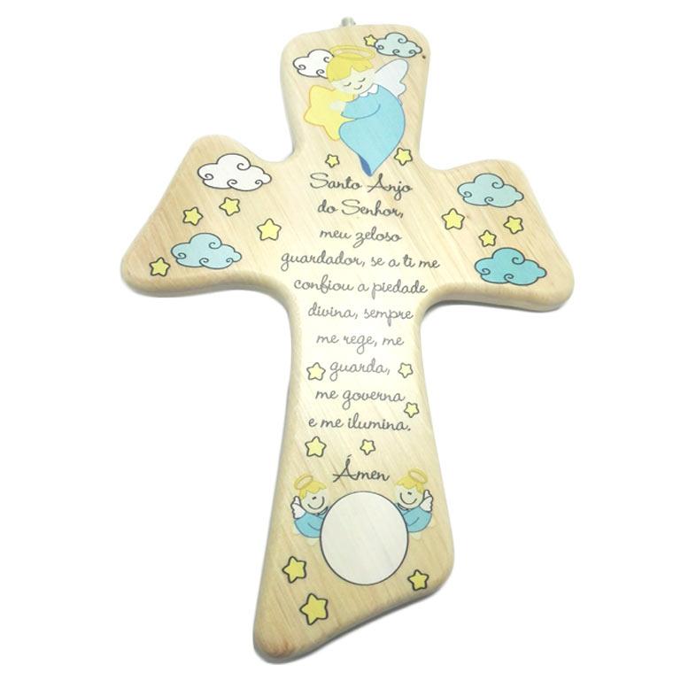 Crucifixo da Anjo da Guarda madeira