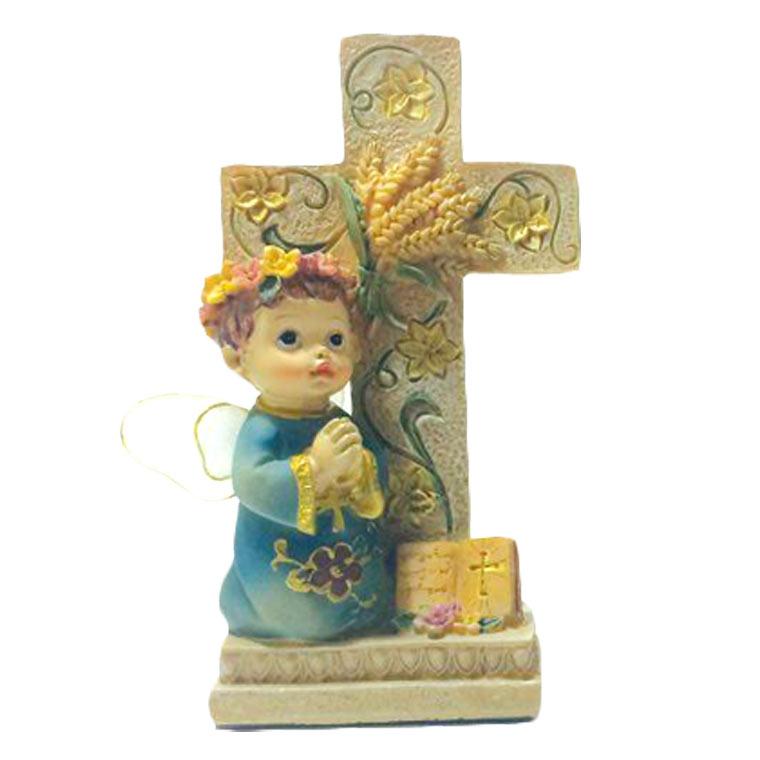Imagem Anjo da guarda com cruz