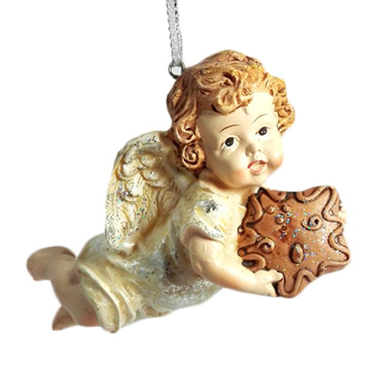 Imagem Anjo da Guarda com dourado