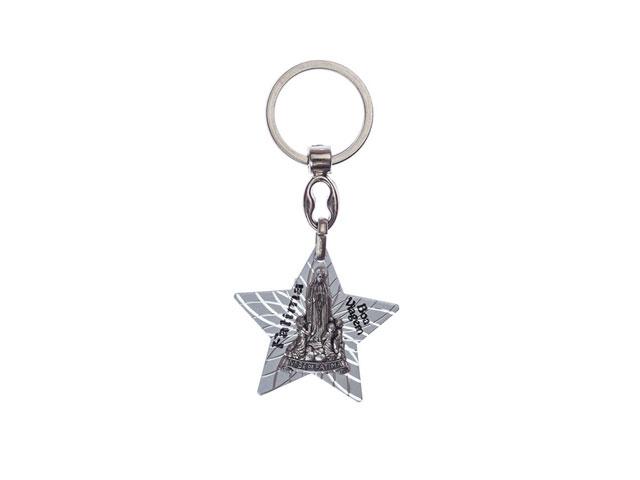 Chaveiro estrela com aparição de Fátima