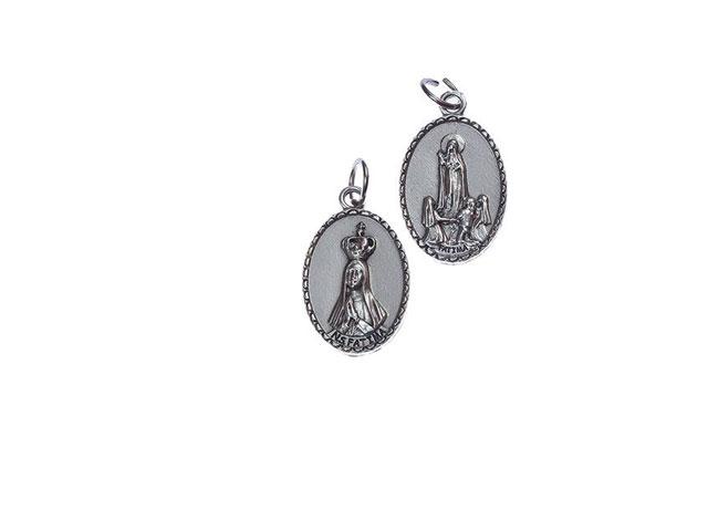 Medalha Alpaca Rosto Virgem Vs Aparição Grande