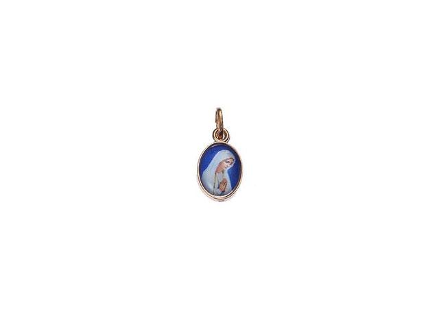 Medalha De Fátima Oval Pequena