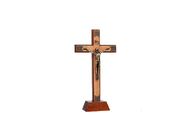 Crucifixo Duplo de Pé