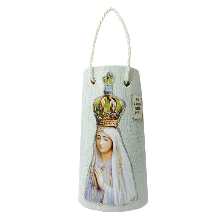 Telha Decorativa Nossa Senhora de Fátima