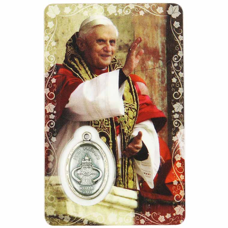Pagela de Papa Bento XVI
