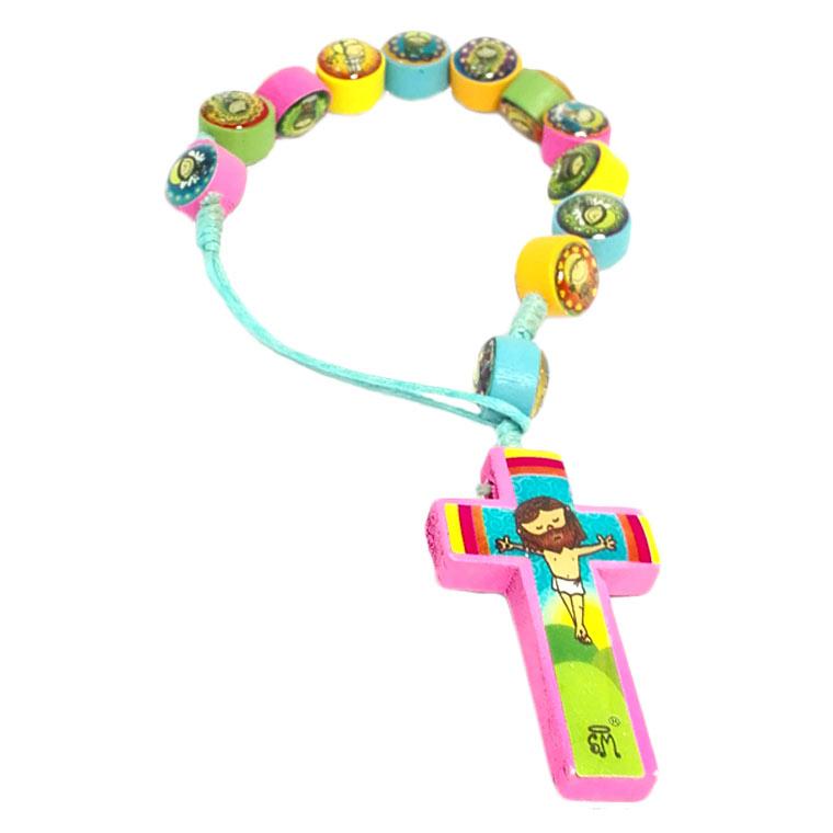 Dezena religiosa colorida