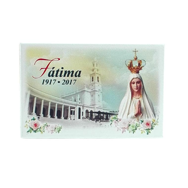 Placa decorativa de Fátima