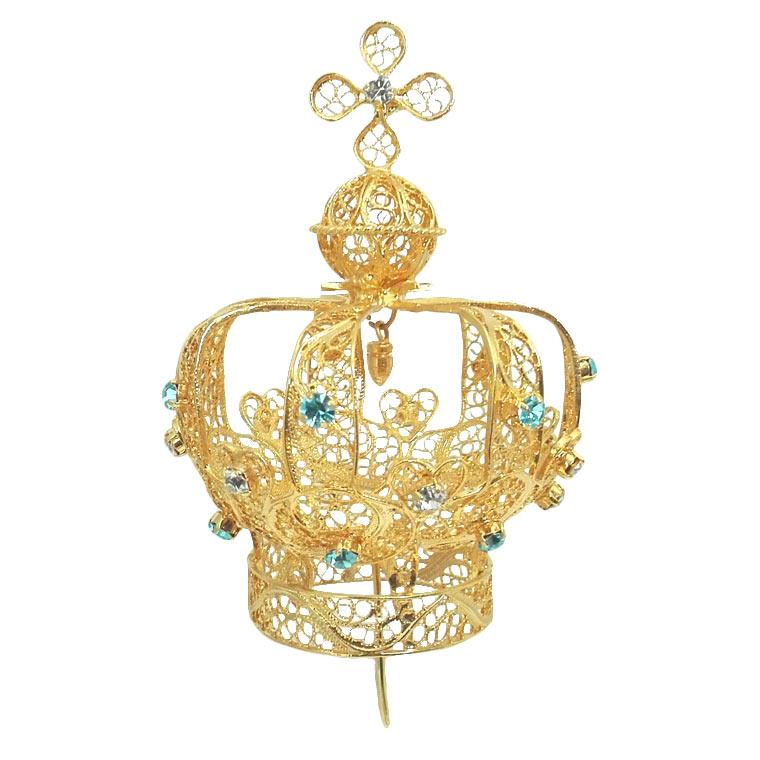 Coroa em filigrana