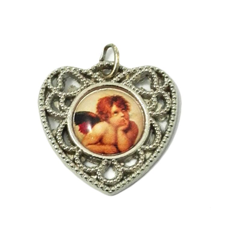 Medalha com Anjo da Guarda
