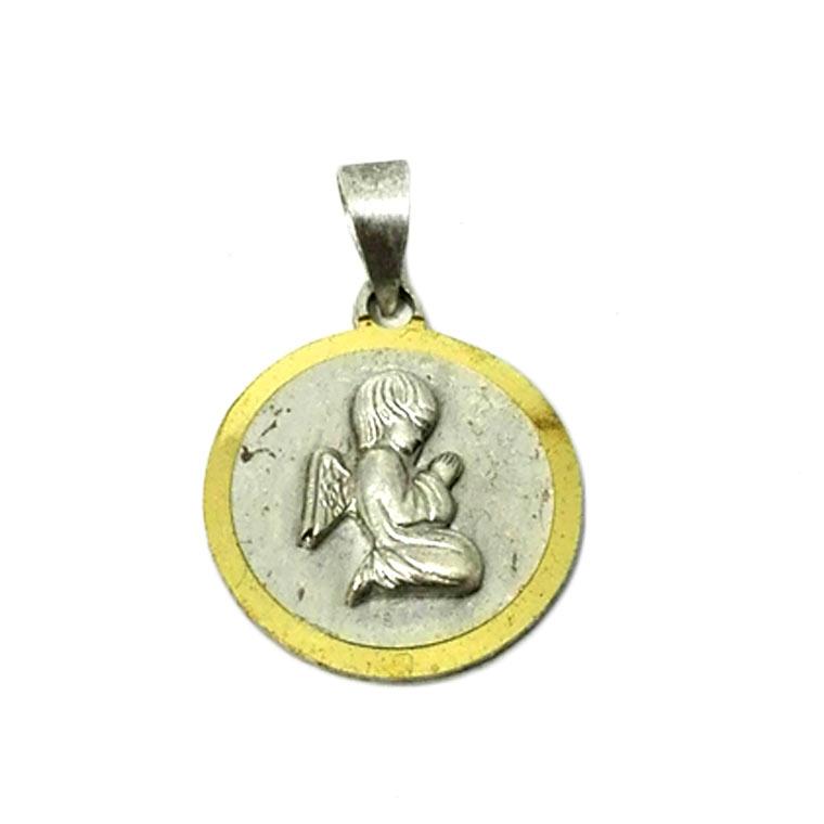 Medalha com anjinho