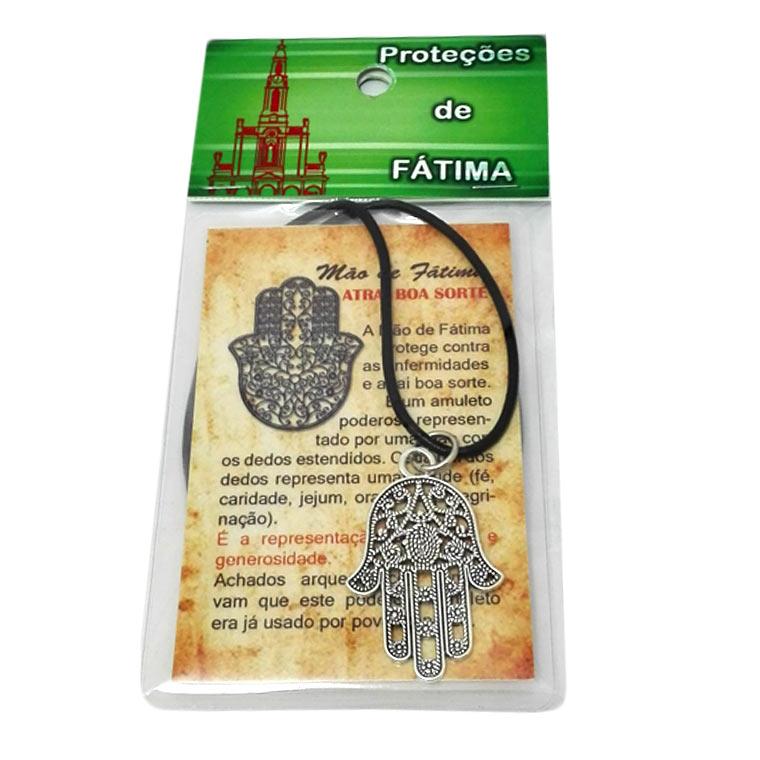 Fios religiosos com amuleto para protecção