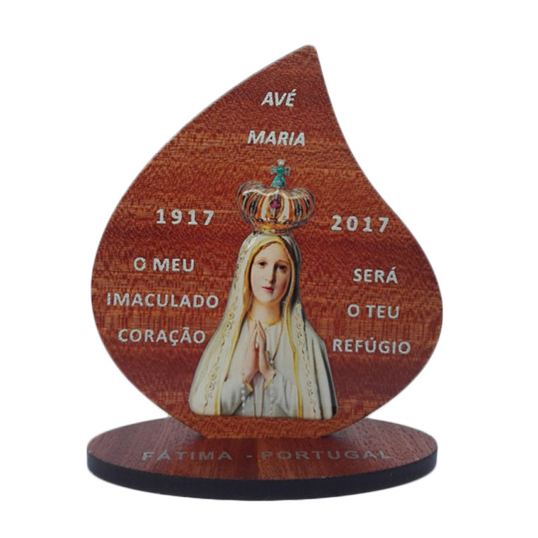 Placa decorativa da Fátima