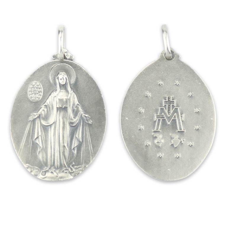 db6489486 Medalha de Nossa Senhora das Graças - Prata 925