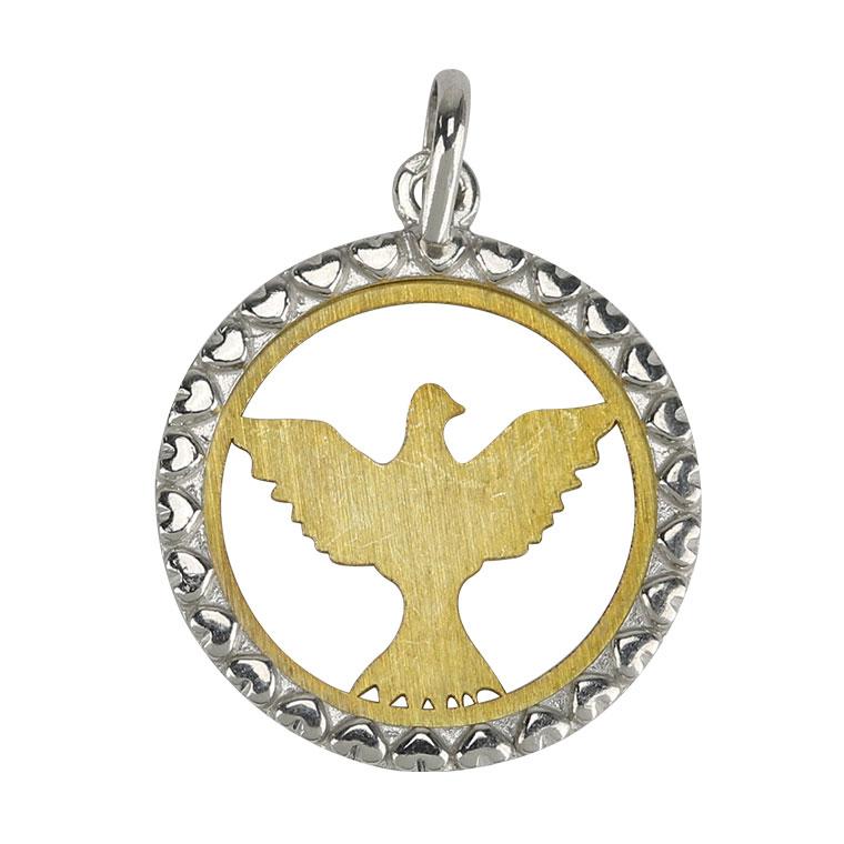 Medalha Espírito Santo - Prata 925