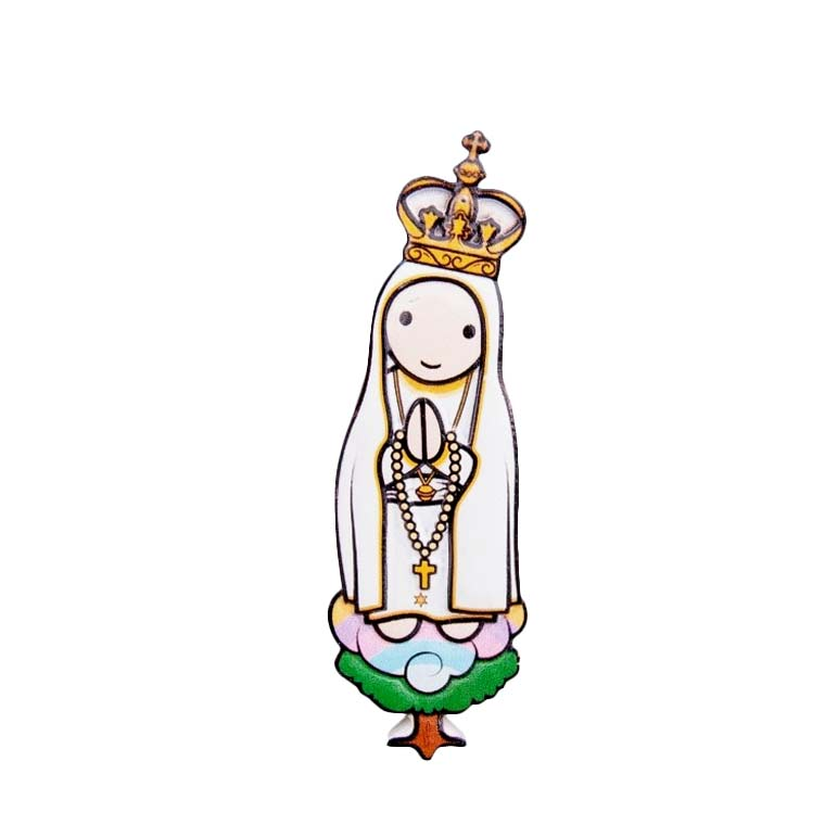 Íman 3D Nossa Senhora de Fátima