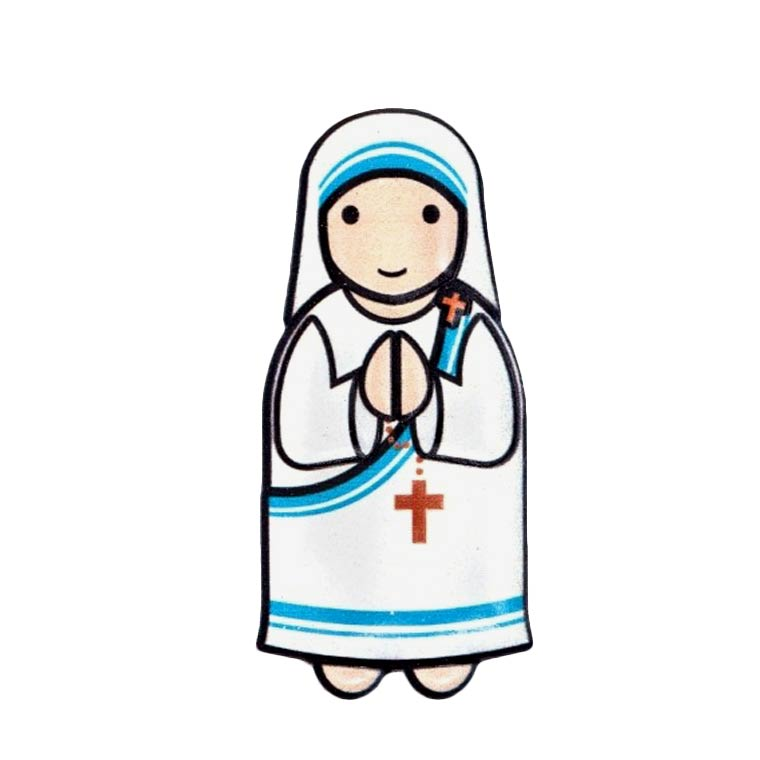 Íman 3D Madre Teresa de Calcutá