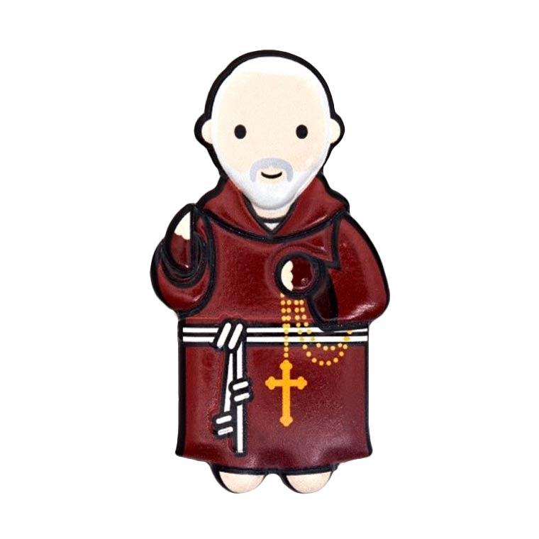 Íman 3D de Padre Pio