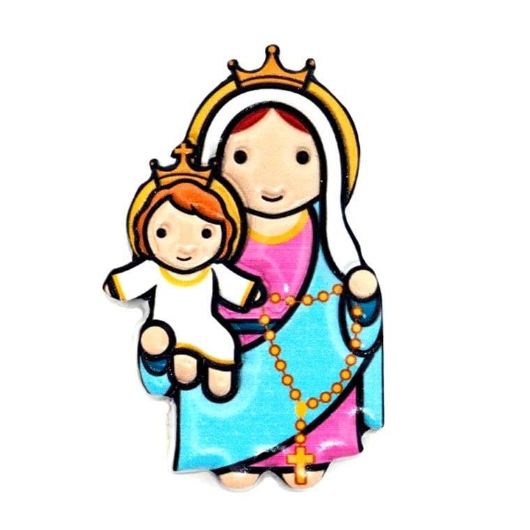 Íman 3D de Nossa Senhora do Rosário
