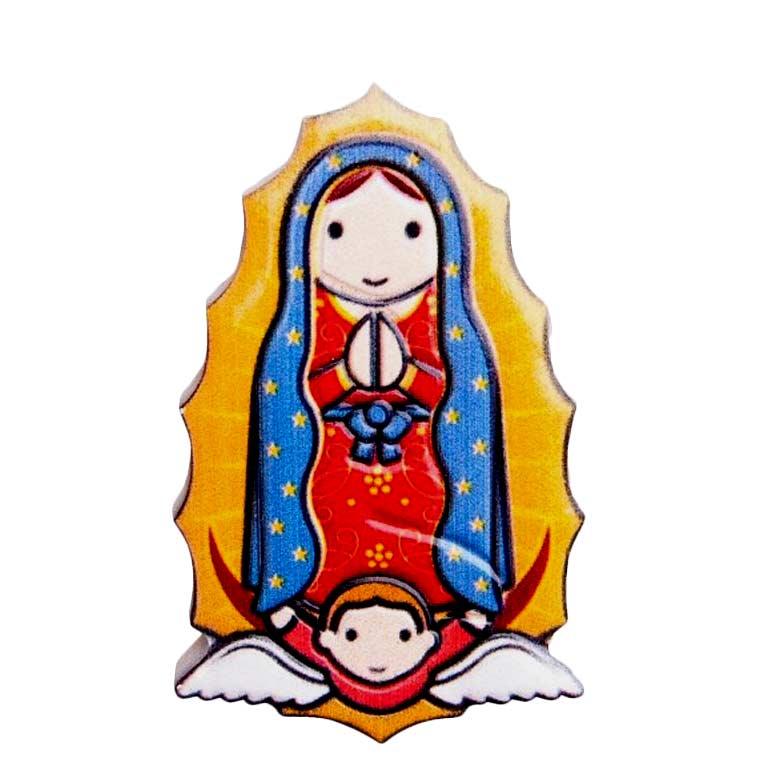 Íman 3D de Nossa Senhora de Guadalupe