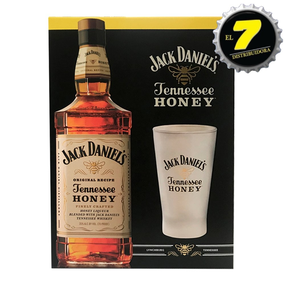 Jack Daniels Honey + vaso