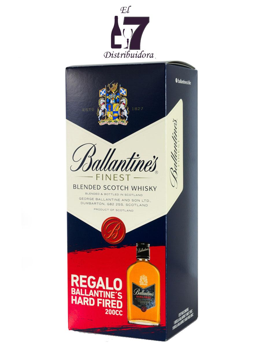 Ballantines Finest Con Petaca De Regalo