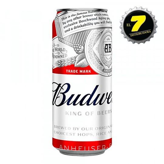 Budweiser Lata 470 CC Pack 24 Unidades