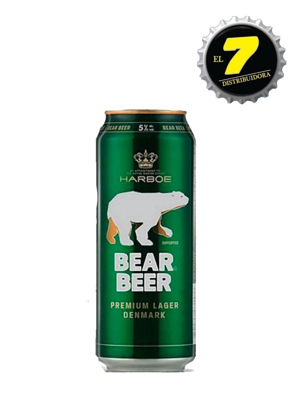 Bear Beer Lata 470 CC Pack 24 Unidades