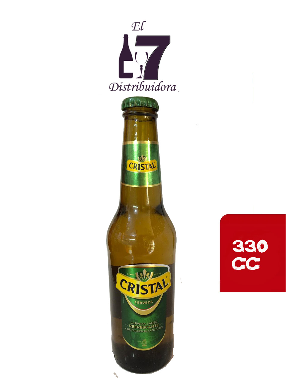 Cristal  Personal 355 CC Pack 24 Unidades