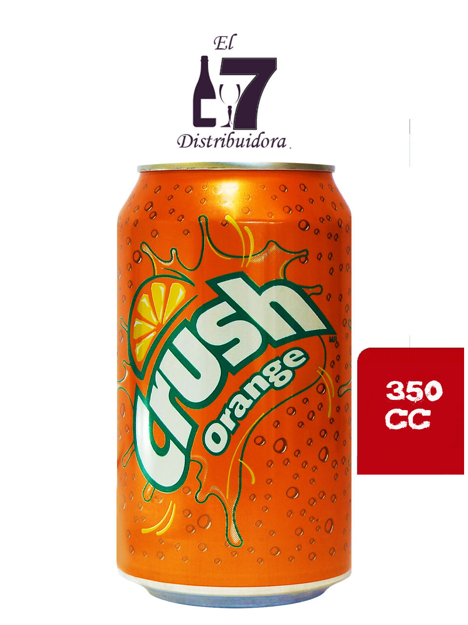 Crush Lata 350 CC Display 24 Unidades