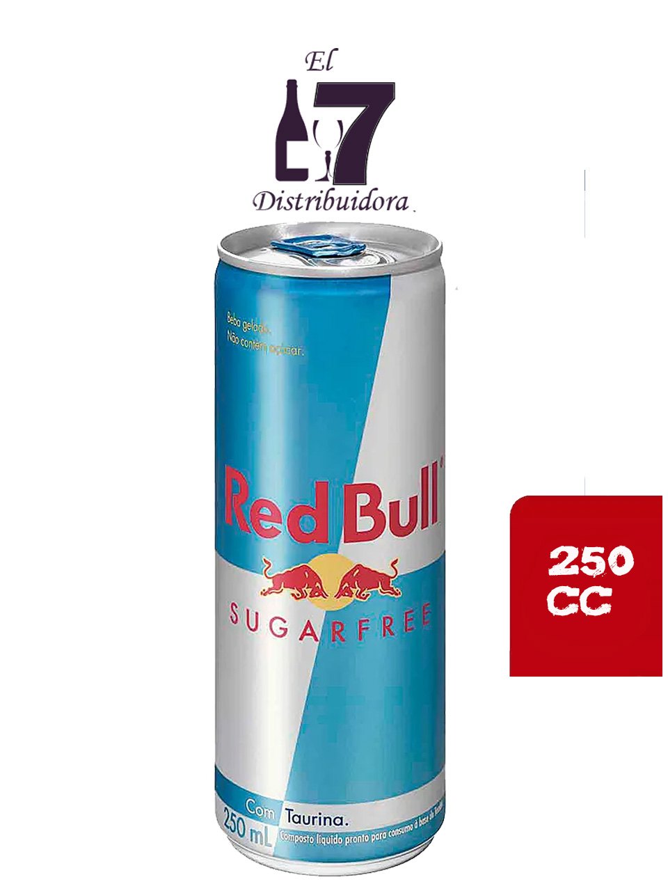 Red Bull Free Sugar 250 CC Pack 6 Unidades