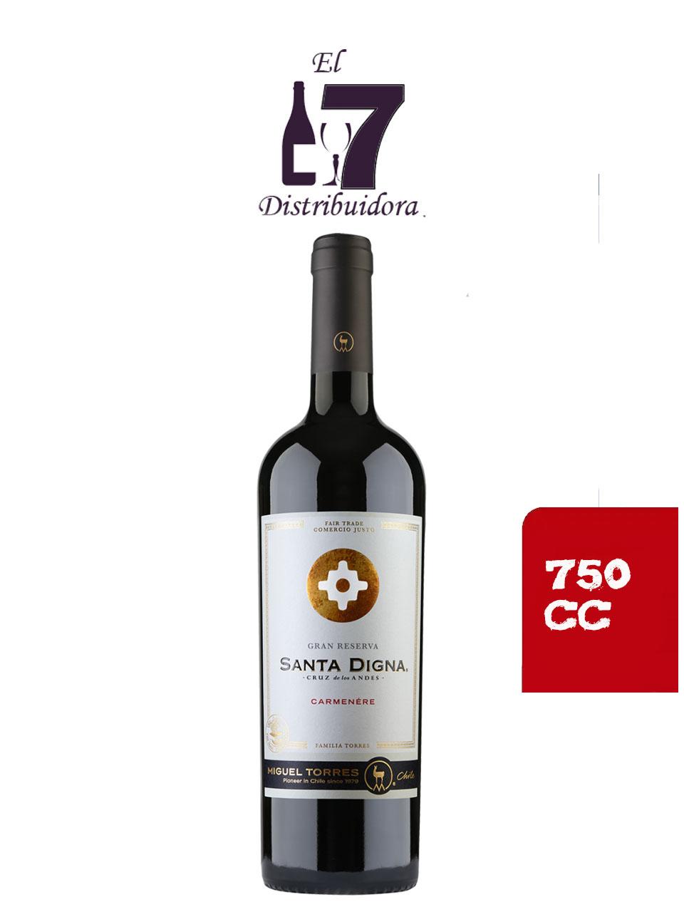 Santa Digna Gran Reserva Cabernet Sauvignon 750 CC