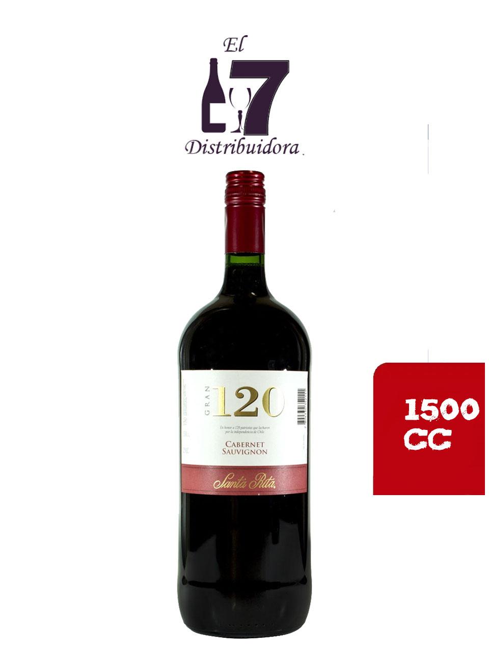 120 Gran Cabernet Sauvignon 1500 CC x 6 unidades