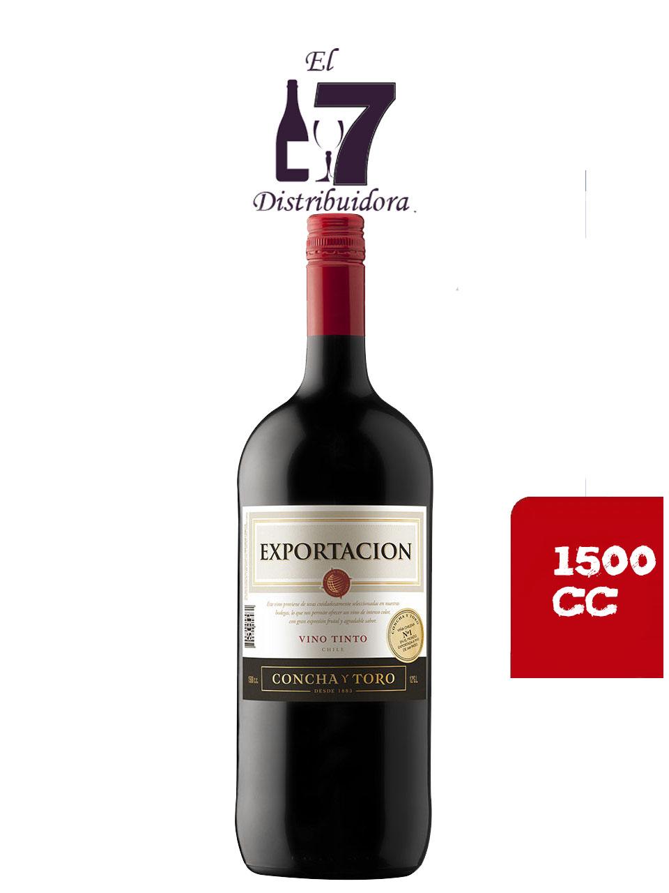 Exportacion Concha Y Toro Vino Tinto 1500 CC x 6 unidades