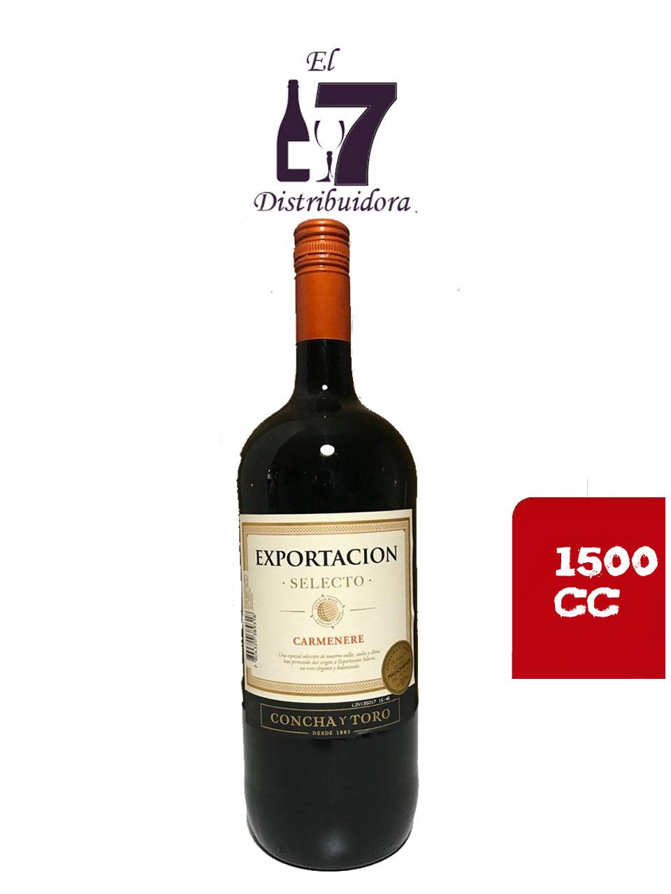Exportacion Concha y Toro Carmenere botellon x 6 unidades