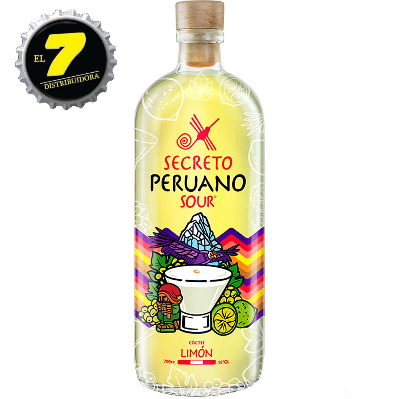 Secreto Peruano Sour Limon 1000 CC