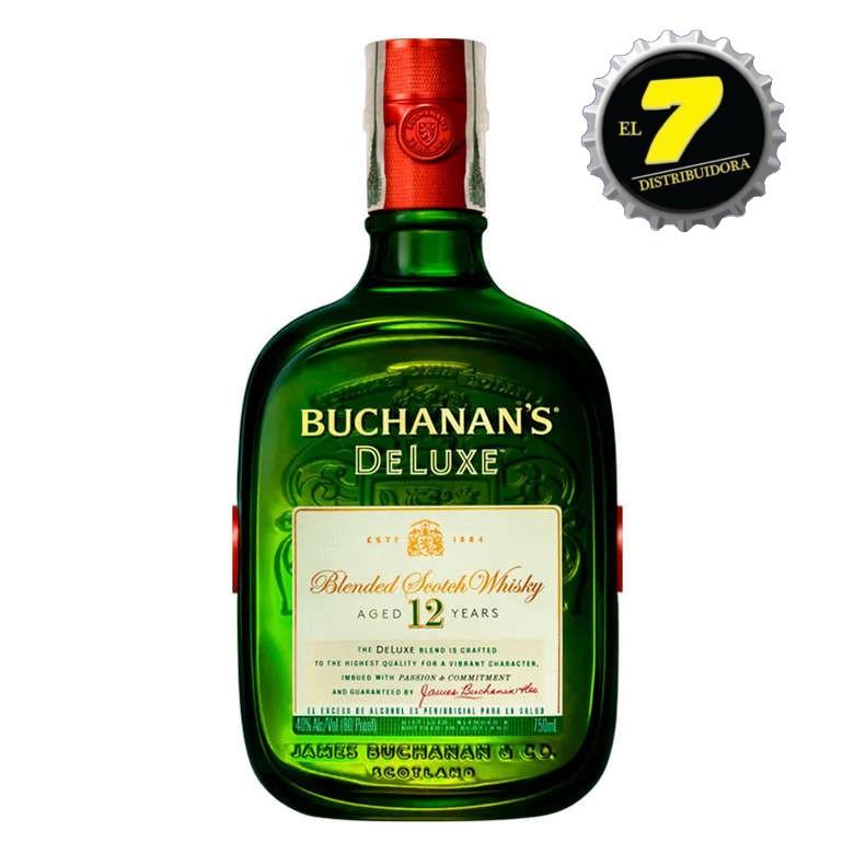 Whisky Escoses Buchanan's Deluxe 750 CC