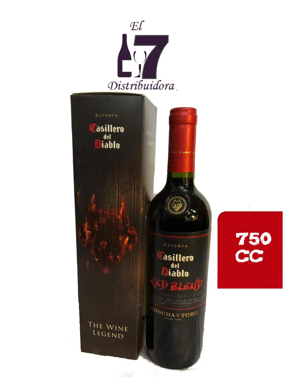 Casillero Del Diablo Red Blend 750 cc