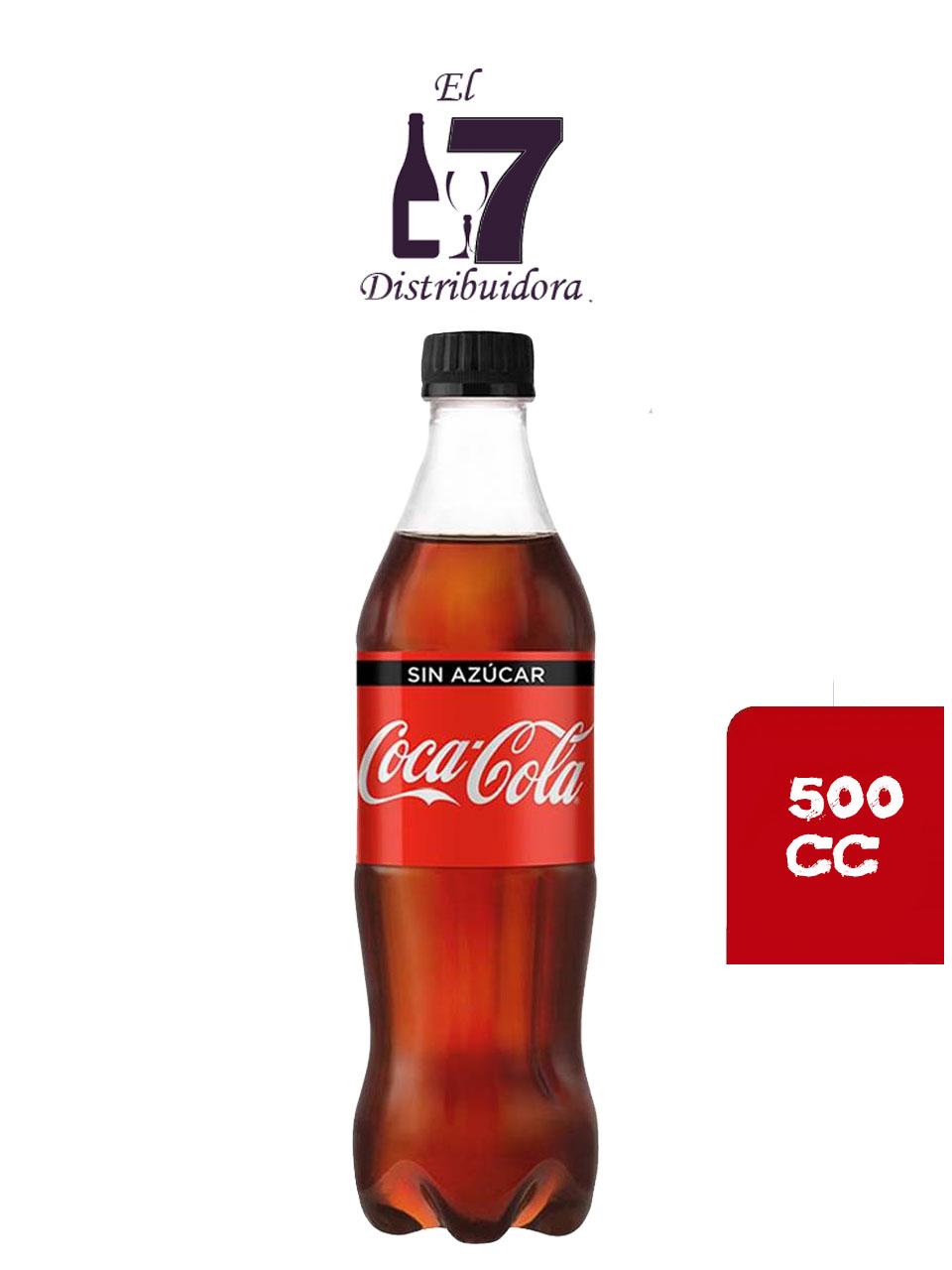 Coca Cola Sin Azucar 500 CC x6